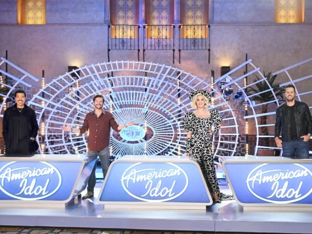 'American Idol' Judge Luke Bryan Shares First Photo From Set With Katy Perry, Lionel Richie and Ryan Seacrest Amid COVID Precautions