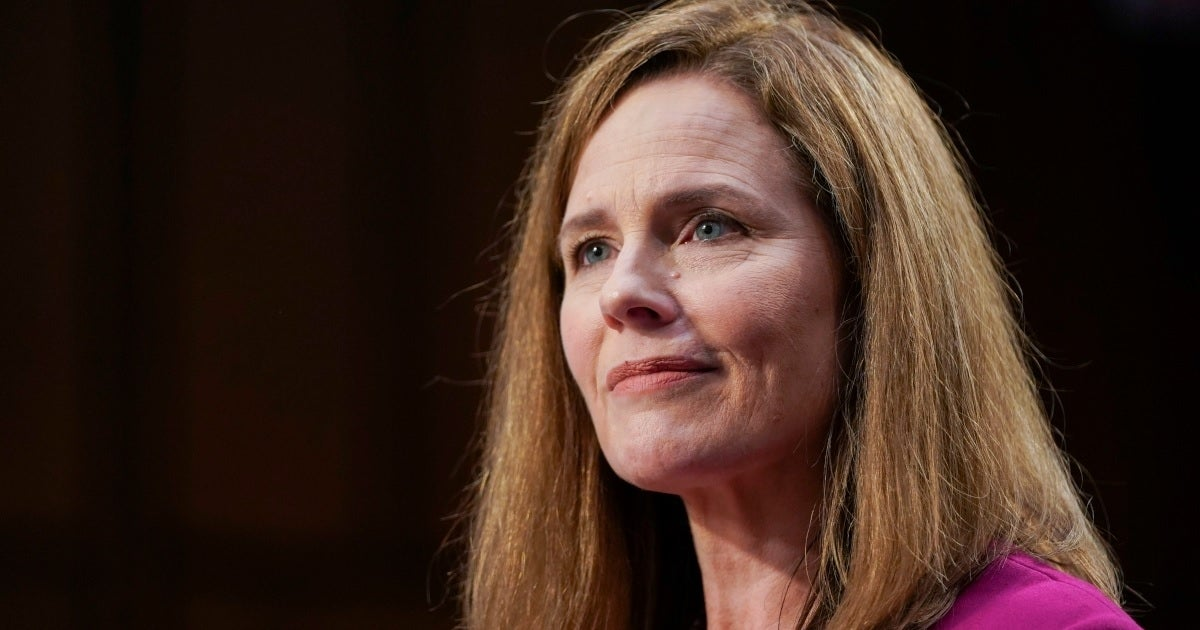 amy coney barrett getty images
