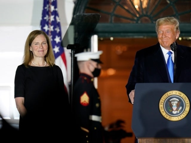 Watch: Amy Coney Barrett Sworn in as Next Supreme Court Justice