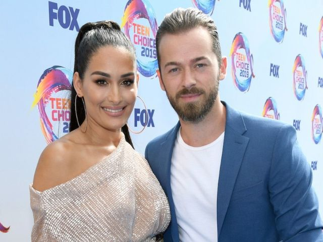 Nikki Bella Reacts to Fiance Artem Chigvintsev Winning 'Dancing With the Stars'