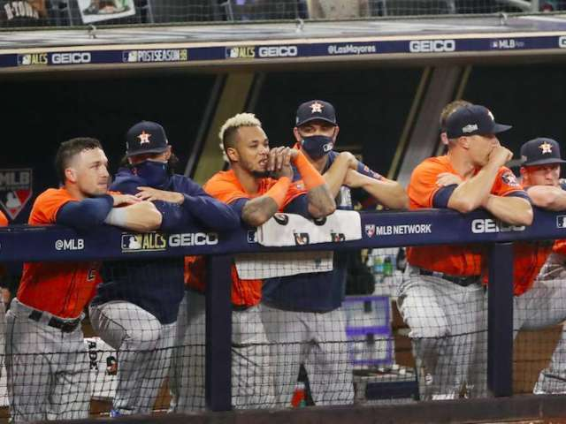 Astros Eliminated From MLB Playoffs, and Baseball Fans Are Rejoicing
