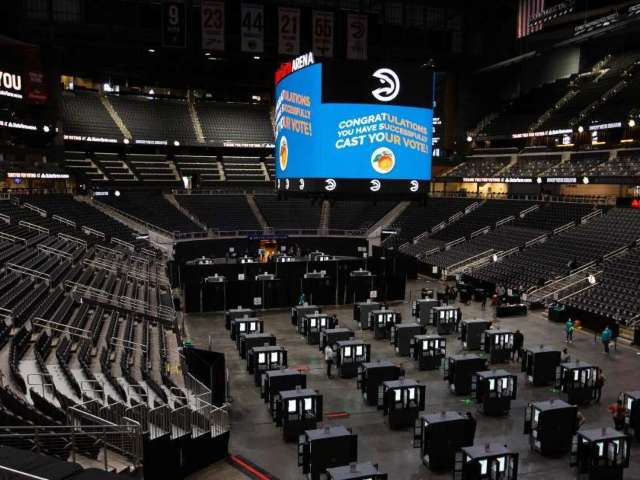 Atlanta Hawks CEO Steve Koonin Details Process of Turning State Farm Arena Into Giant Voting Site