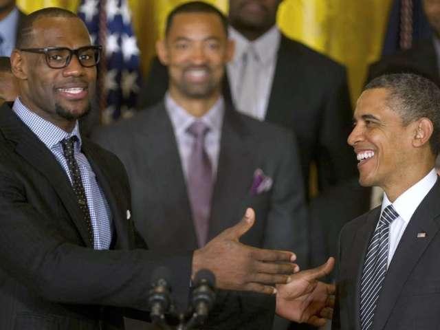Barack Obama Congratulates Lebron James After Winning 4th NBA Championship