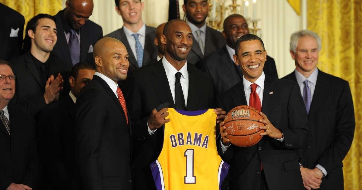 Barack Obama message Lakers wining NBA Championship