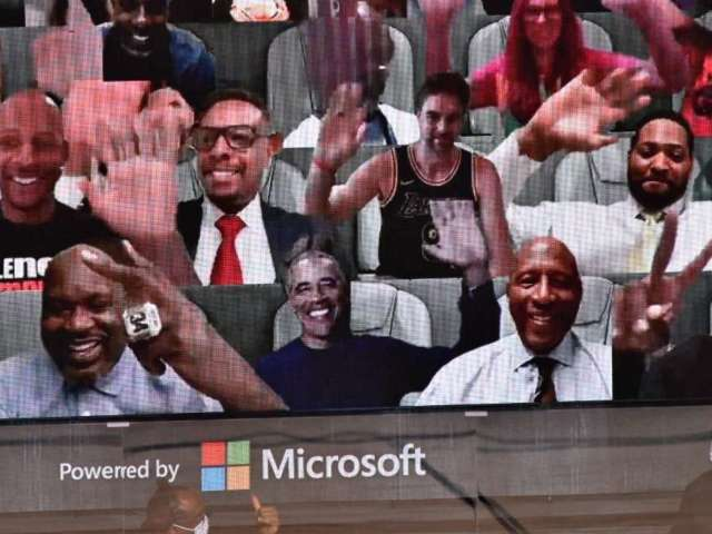 Barack Obama Attends Game 1 of NBA Finals as a Virtual Fan
