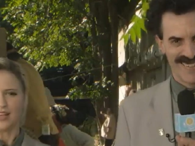 'Borat 2': Actress Maria Bakalova Managed to Make It Into White House in Deleted Scene