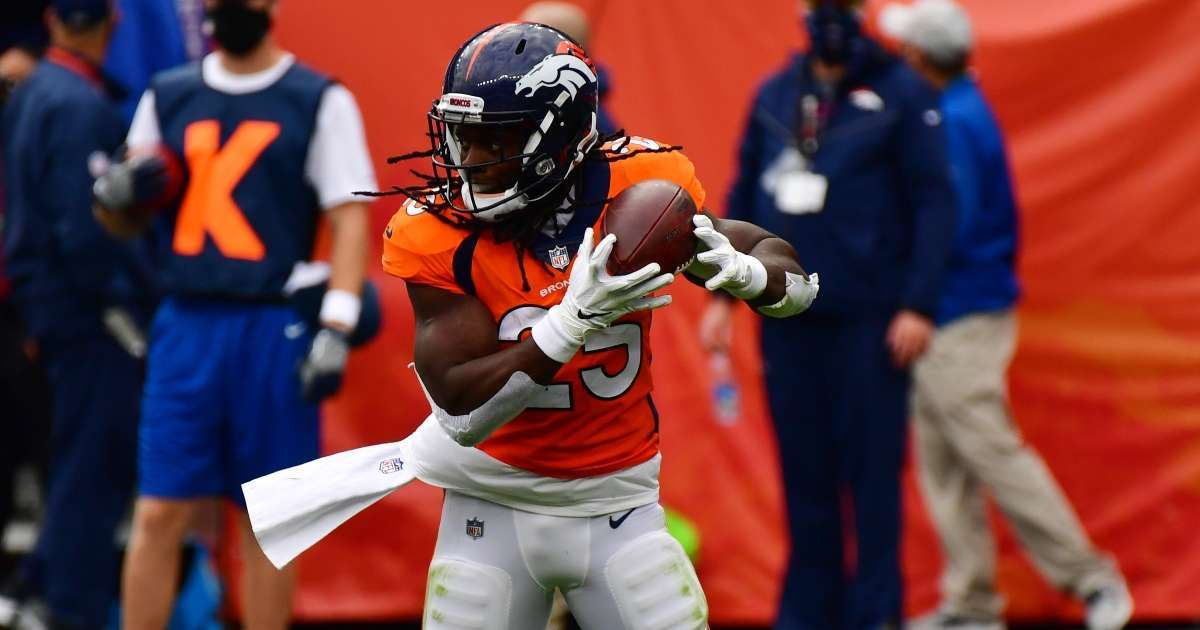 Broncos Melvin Gordon charged DUI 25 MPH speed limit