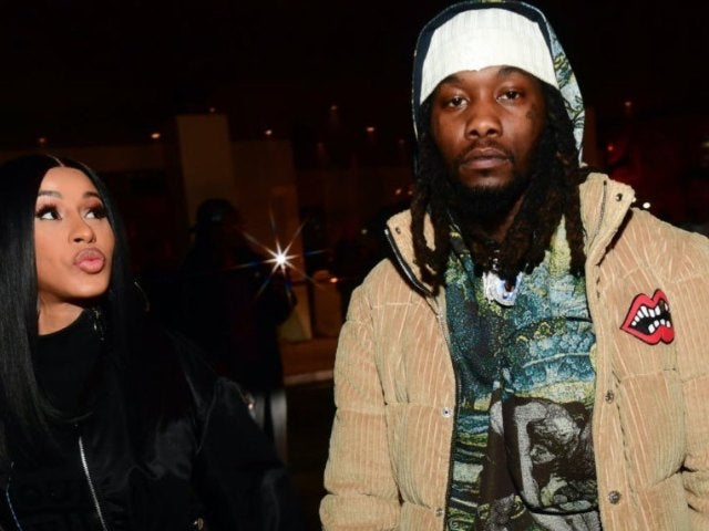 Cardi B Kisses Husband Offset a Month After Filing for Divorce
