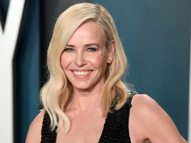 Chelsea Handler Goes Topless Except for Strategically Placed 'I Voted' Stickers for Election Day PSA