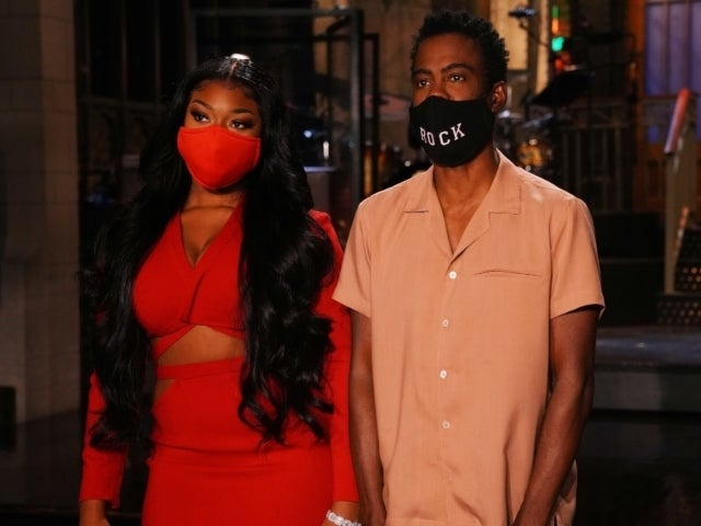 'SNL': Chris Rock and Megan Thee Stallion 'Aren't Worried' About Pandemic in New Promo for Season Premiere