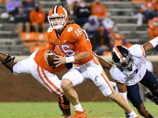 Clemson QB Trevor Lawrence Reportedly Tests Positive for COVID-19