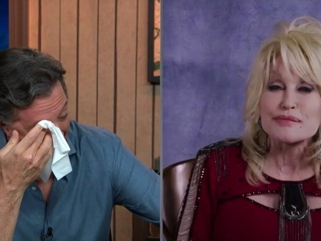 Dolly Parton Brings Stephen Colbert to Tears in Emotional Serenade