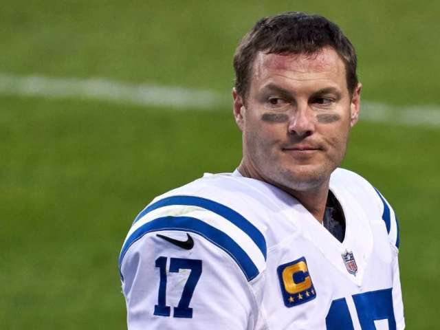 Colts QB Philip Rivers Caught on Hot Mic Talking Smack to Bears and Social Media Is Howling