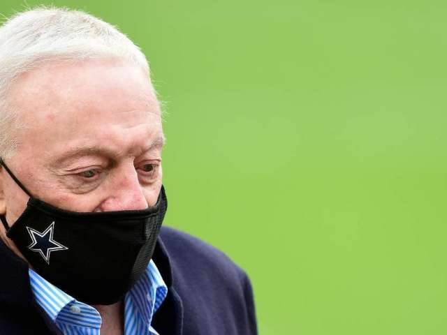Cowboys Owner Jerry Jones Tells Radio Host to 'Shut Up' Over Cowboys Leadership Question