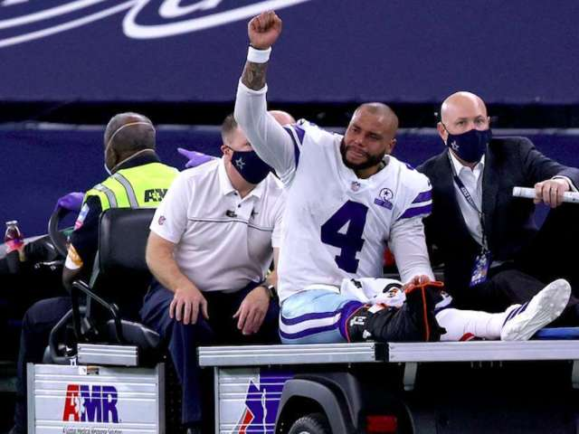 Dak Prescott Released From Hospital Following Surgery for Compound Fracture