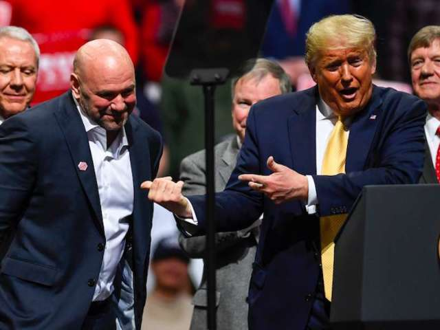 Donald Trump Raved to Dana White About Joaquin Buckley's Fight Night KO