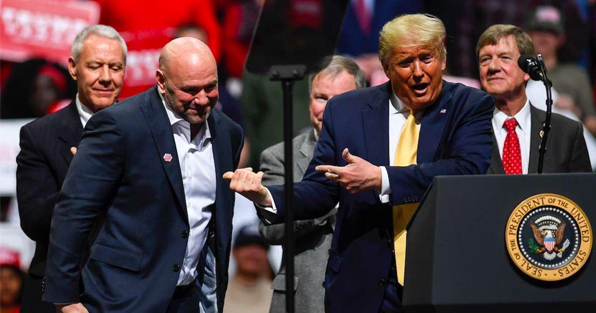 Dana-White-Donald-Trump