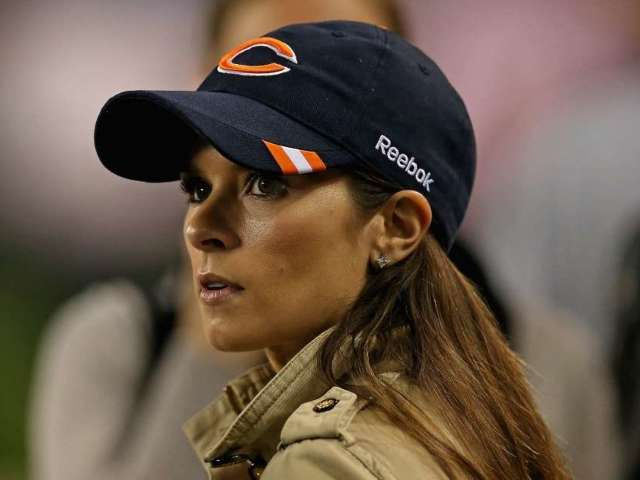Danica Patrick Watches Bears Game in Wake of Aaron Rodgers Breakup