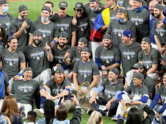 Dodgers World Series Parade Postponed Due to Pandemic Restrictions