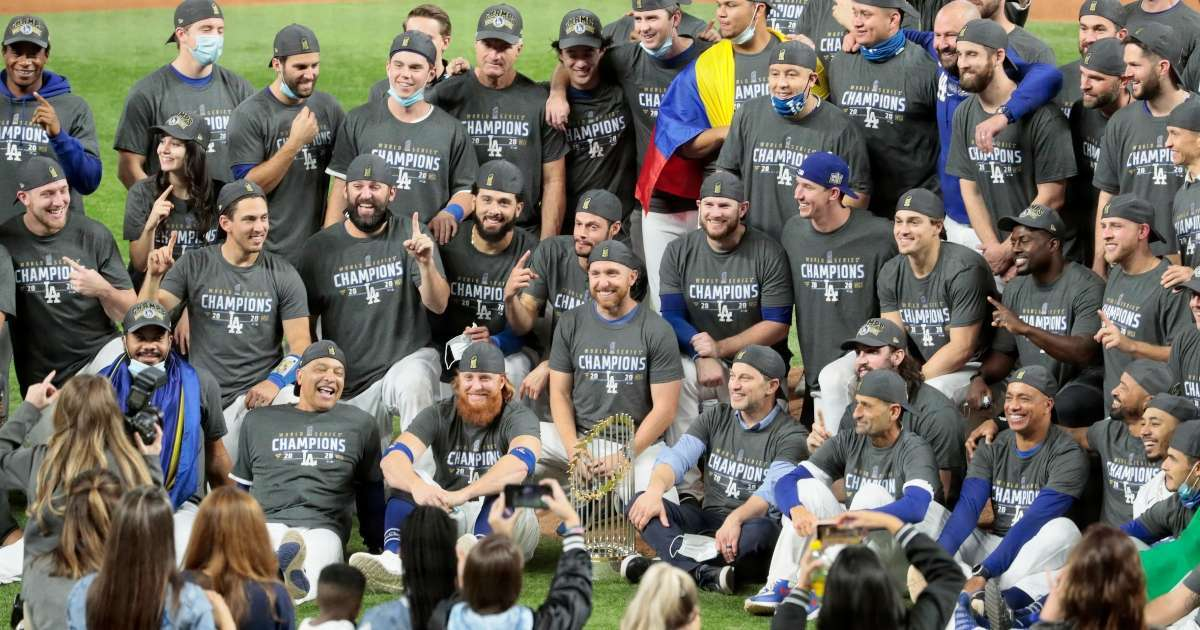 Dodgers World Series parade postponed pandemic restrictions