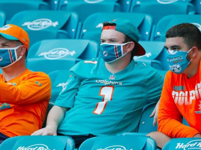 Dolphins Get 'Full Capacity' Approval for 65,000-Seat Stadium Amid COVID-19