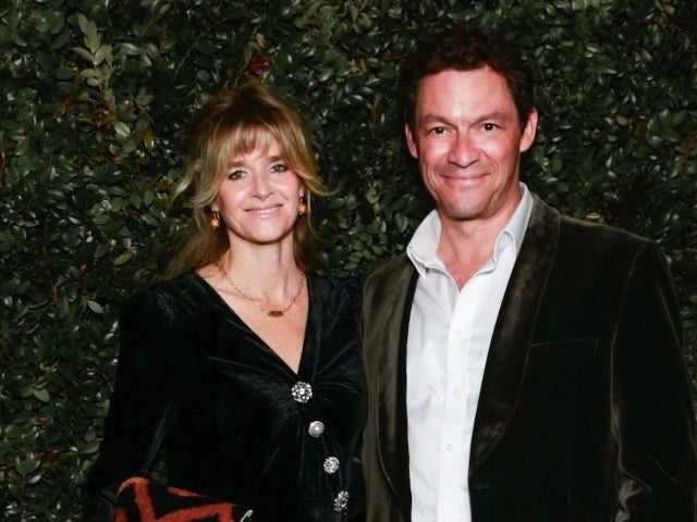 Dominic West Kisses Wife, Calls Marriage 'Strong' After He Was Spotted Kissing Lily James