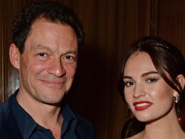 Dominic West Returned to London With Lily James Before Making Public Statement With Wife
