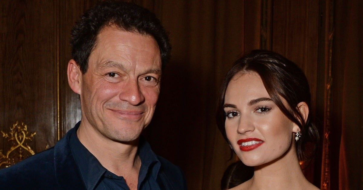 dominic west lily james getty images