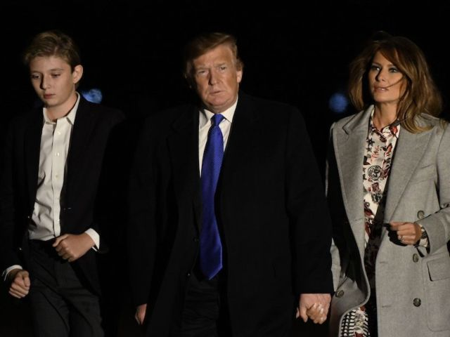 Donald and Melania Trump's Son Barron Tests Negative for COVID-19