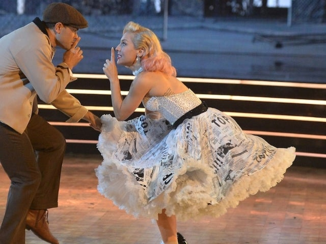 'Dancing With the Stars' Pro Sharna Burgess Is Powering Through Severe Ankle Sprain