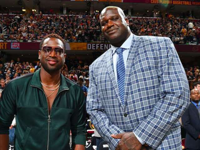 Shaquille O'Neal and Dwyane Wade Reveal Major Financial Flubs From Early in Their Careers