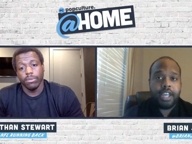 Former Carolina Panthers NFL Running Back Jonathan Stewart - PopCulture @Home Exclusive Interview