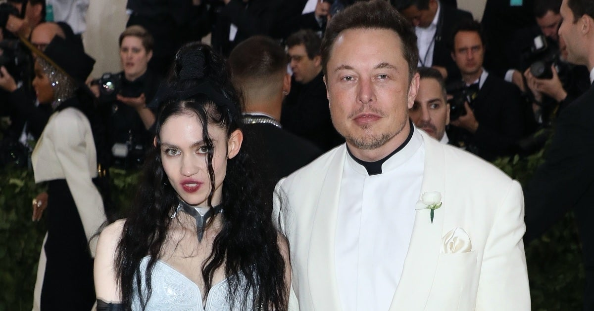 grimes elon musk getty images