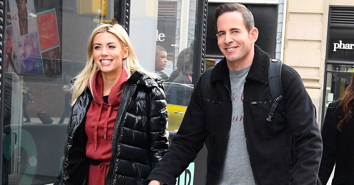 heather rae young tarek el moussa getty images