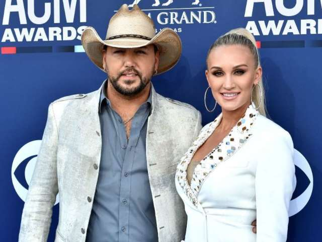Jason and Brittany Aldean Snap Georgia vs. Alabama Game Day Photo, and They're on Opposing Sides