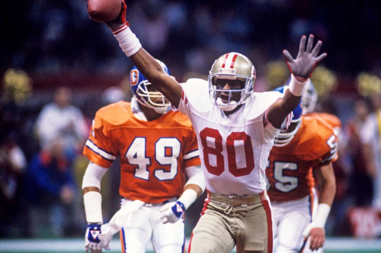 Jerry Rice Top NFL players 1990