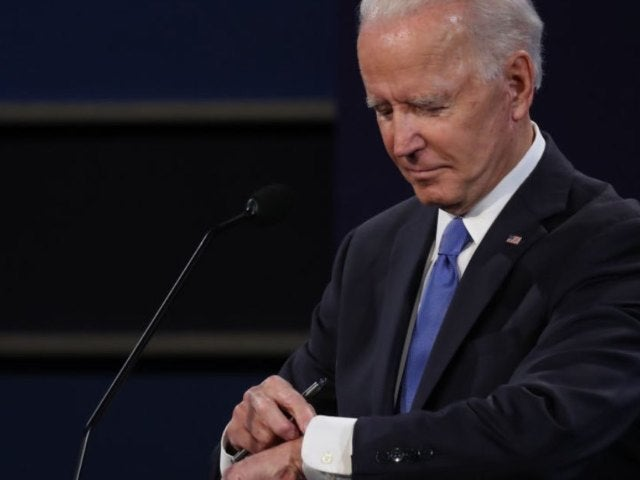 Joe Biden Looking at His Watch During Debate Sparks Jokes, Outrage on Social Media