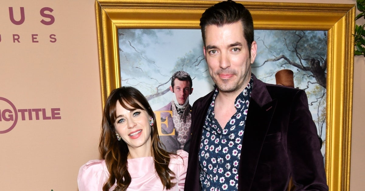 jonathan scott zooey deschanel getty images