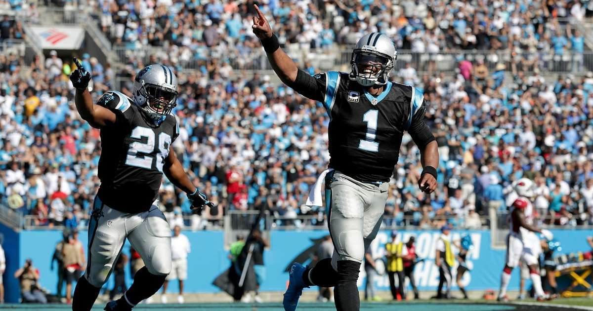 Jonathan Stewart wasn't a fan Cam Newton released Panthers