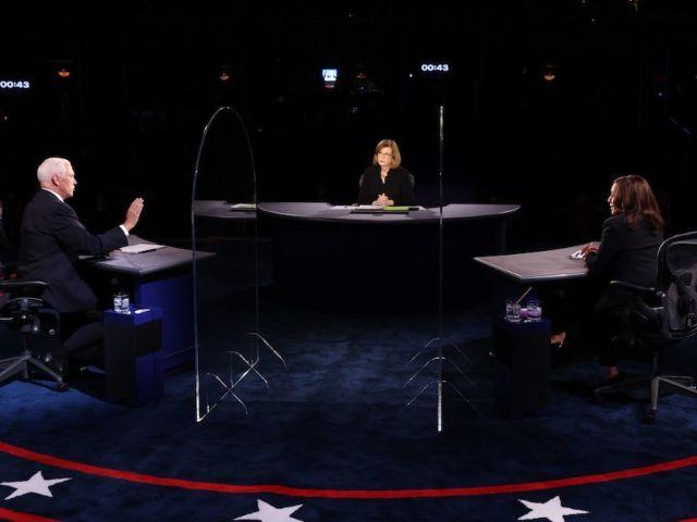 Vice Presidential Debate's Plexiglass Likely Won't Help Contain Viruses