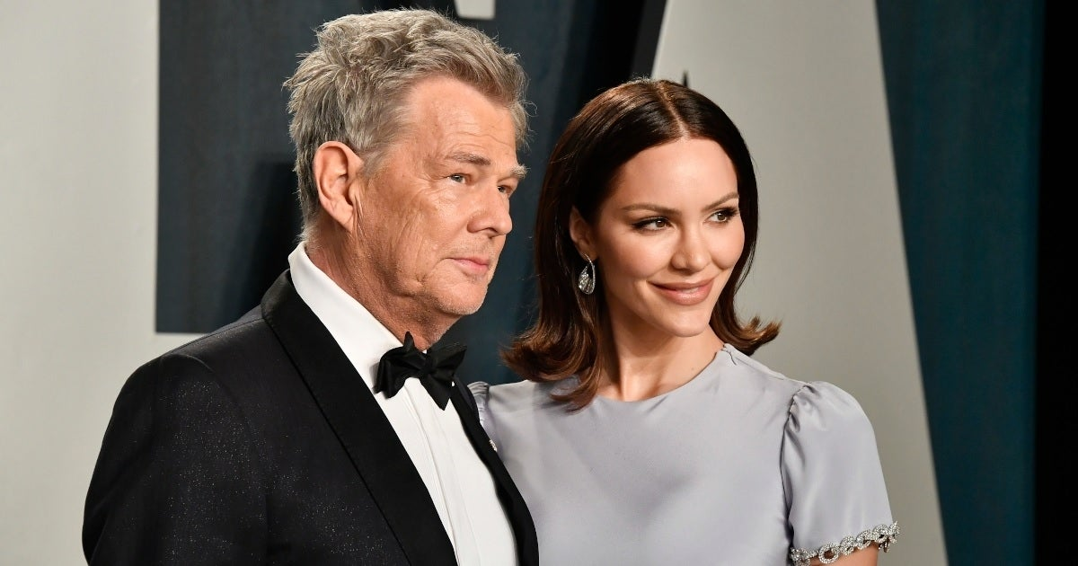 katharine mcphee david foster getty images