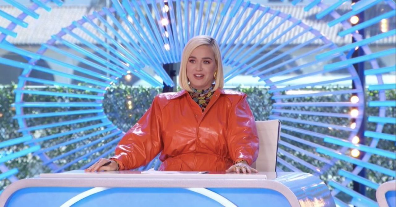 'American Idol' Set Malfunction Gives Katy Perry a Fright in Exclusive Clip