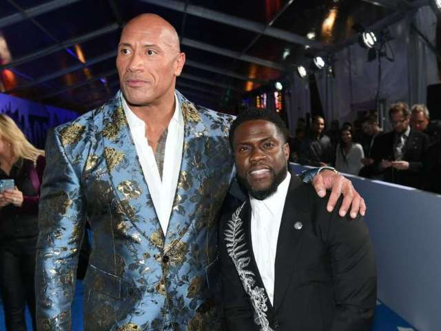 Kevin Hart Mocks Dwayne 'The Rock' Johnson's Bloody Workout Injury Video