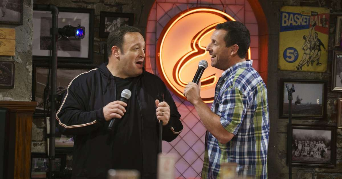 Kevin James Adam Sandler The Waterboy Spinoff