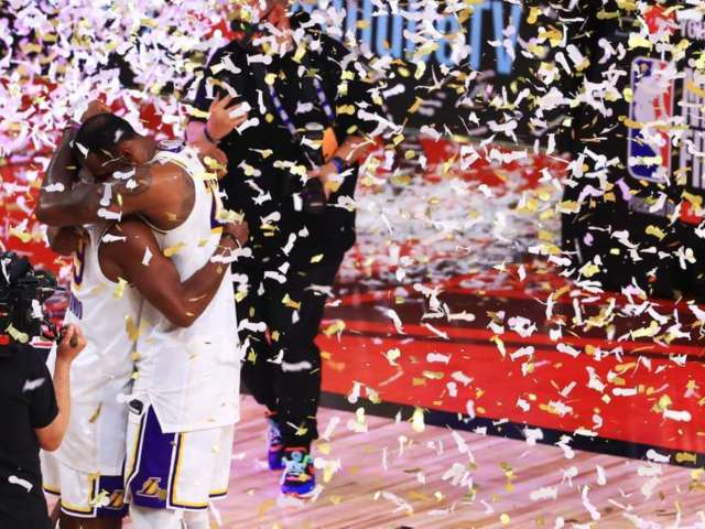Vanessa Bryant, Lakers Fans Celebrate Team's 17th NBA Championship Saying 'This One's For Kobe'