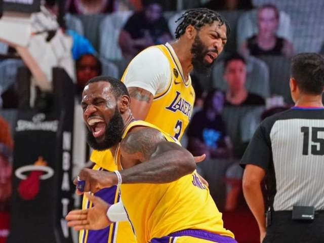 Los Angeles Lakers Claim 17th NBA Title After Beating Miami Heat in Game 6 of NBA Finals