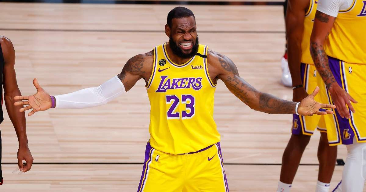 LeBron James sports stars react to Mike Pence virtual fly moment