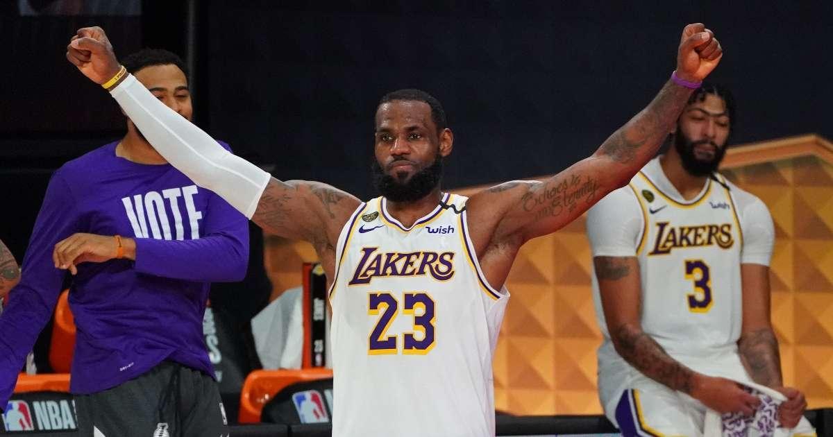 LeBron James winning 4th NBA title wants respect