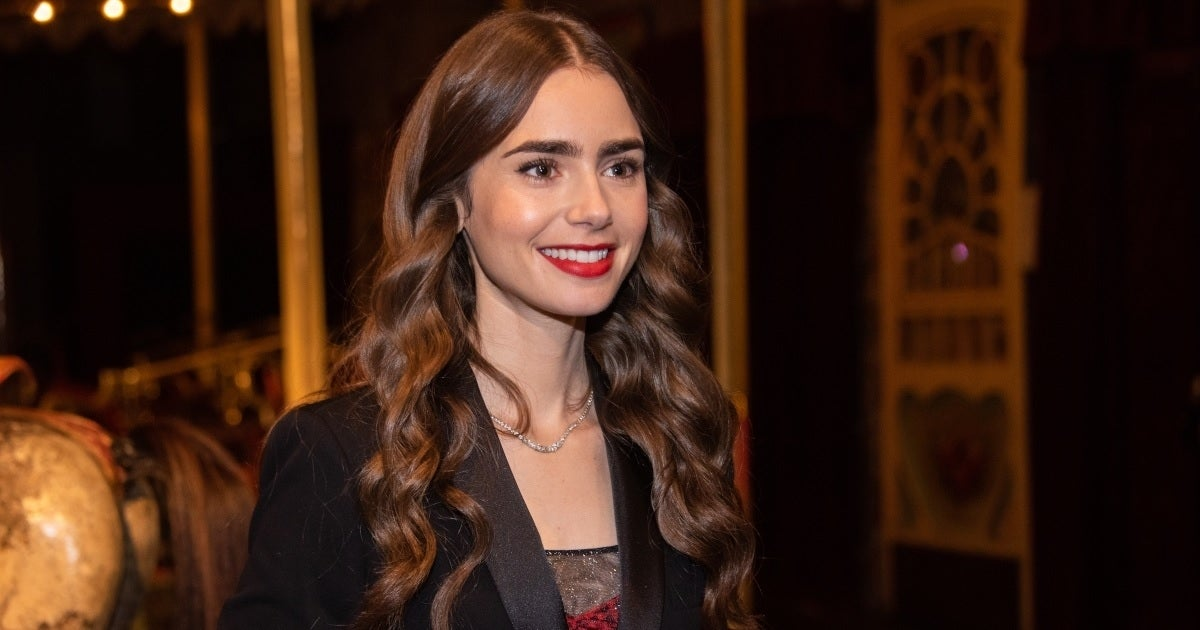 lily collins getty images