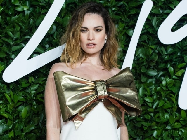 Lily James Pulls out of Another Event at the Last Minute Following Dominic West Outing